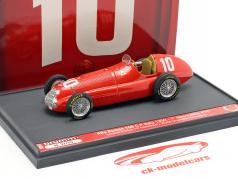 Giuseppe Farina Alfa Romeo 158 #10 Campeón mundial Italia GP F1 1950 1:43 Brumm