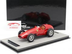 Ferrari 625 F1 pressione versão 1955 vermelho 1:18 Tecnomodel