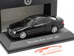 Mercedes-Benz CL65 AMG 建设年份 2000 黑色 1:43 Spark