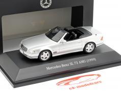 Mercedes-Benz SL 73 AMG Bouwjaar 1999 zilver 1:43 Spark