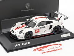 Porsche 911 (992) RSR WEC 2019 介绍 版 1:43 Spark
