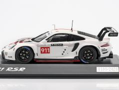 Porsche 911 (992) RSR WEC 2019 Presentation version 1:43 Spark