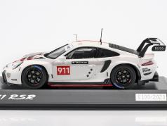Porsche 911 (992) RSR WEC 2019 презентация версия 1:43 Spark