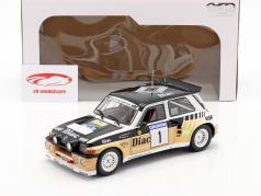 Renault Maxi 5 Turbo #1 优胜者 Rallye du Var 1986 Chatriot, Perin 1:18 Solido