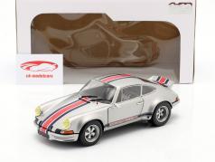 Porsche 911 RSR Baujahr 1973 silbergrau metallic 1:18 Solido