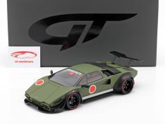 Lamborghini Khyzyl Saleem Huratach Byggeår 2020 matteret grøn 1:18 GT-SPIRIT