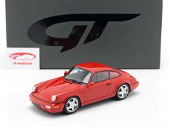 Porsche 911 (964) RS Club Sport 建设年份 1992 红 1:18 GT-SPIRIT