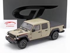 Jeep Gladiator Rubicon Ano de construção 2020 brilhante verde oliva 1:18 GT-SPIRIT