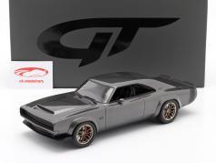 Dodge Super Charger Sema Concept Byggeår 1968 Grå metallisk 1:18 GT-SPIRIT