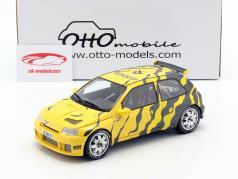 Renault Clio Maxi Presentation Car 1995 negro / amarillo 1:18 OttOmobile
