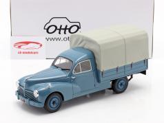 Peugeot 203 Camionnette Bachee 建设年份 1953 蓝色 / 米色 1:18 OttOmobile