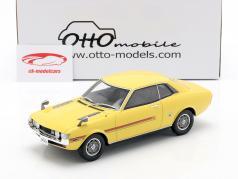 Toyota Celica GT Coupe (R22) Bouwjaar 1970 geel 1:18 OttOmobile