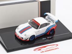 Porsche 911 (993) RWB Rauh-Welt Martini weiß 1:43 Ixo