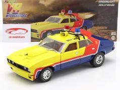 Ford Falcon XB 4-Door Byggeår 1974 film Mad Max I First of the V8 Interceptors 1:18 Greenlight