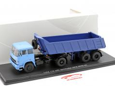 Liaz 110 With MAZ 9506-20 Tipping trailer blue 1:43 PremiumClassiXXs