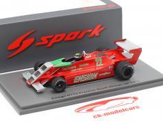 Derek Daly Ensign N179 #22 test South Africa GP formula 1 1979 1:43 Spark
