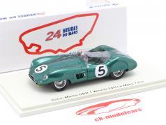 Aston Martin DBR 1 #5 Vinder 24h LeMans 1959 Shelby, Salvadori 1:43 Spark