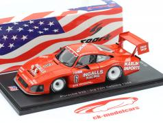 Porsche 935 #6 3. 12h Sebring 1984 Bell, Foyt, Wollek 1:43 Spark