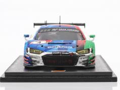 Audi R8 LMS GT3 #4 勝者 24h Nürburgring 2019 汚れた バージョン 1:43 Spark