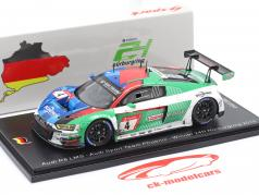 Audi R8 LMS GT3 #4 Winnaar 24h Nürburgring 2019 Vuil versie 1:43 Spark