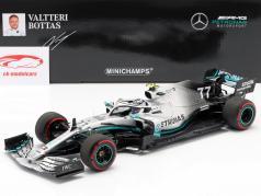 V. Bottas Mercedes-AMG F1 W10 #77 大不列颠 GP F1 2019 1:18 Minichamps