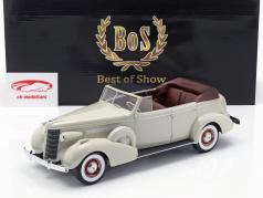 Buick Roadmaster 80-C Four Door Phaeton 可转换 建设年份 1973 浅灰 1:18 BoS-Models/ 2。 选择