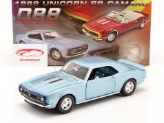 Chevrolet Camaro SS Coupe Baujahr 1968 blau 1:18 GMP