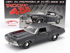 Oldsmobile Rocket 455 Cutlass SX year 1970 black 1:18 GMP