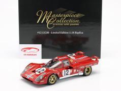 Ferrari 512M #12 3rd 24h LeMans 1971 Posey, Adamowicz 1:18 GMP