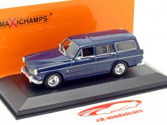 Volvo 121 Amazon Break jaar 1966 donker blauw 1:43 Minichamps
