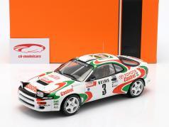 Toyota Celica Turbo 4WD #3 winnaar Rallye Monte Carlo 1993 Auriol, Occelli 1:18 Ixo