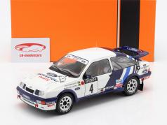 Ford Sierra RS Cosworth #4 Quinto Rallye 1000 Lakes 1988 Blomqvist, Melander 1:18 Ixo