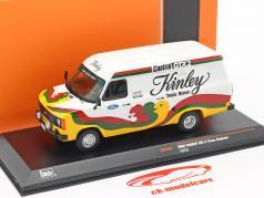 Ford Transit MK II Año de construcción 1978 Kinley Team Bélgica 1:43 Ixo
