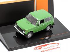Lada Niva Año de construcción 1978 verde 1:43 Ixo