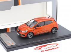 Renault Clio RS Line year 2019 orange metallic 1:43 Premium X