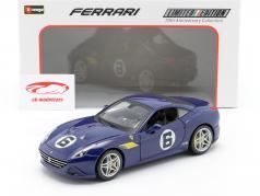 Ferrari California T #6 The Sunoco 70th Anniversary Collection blau 1:18 Bburago