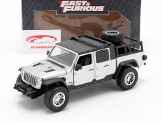 Jeep Gladiator año 2020 Fast & Furious 9 (2021) plateado 1:24 Jada Toys