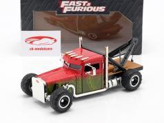 Custom Peterbilt 牽引 トラック Fast & Furious Hobbs & Shaw (2019) 1:24 Jada Toys
