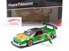 Honda NSX Type R 2002 Met figuur Green Ranger Power Rangers 1:24 Jada Toys