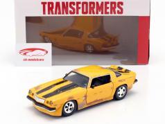 Chevrolet Camaro 1977 Transformers Bumblebee (2018) gul 1:24 Jada Toys