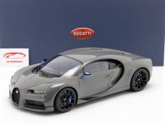 Bugatti Chiron Année de construction 2017 jet gris 1:12 AUTOart