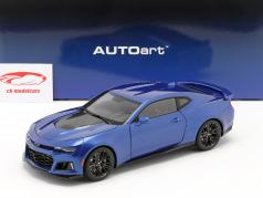 Chevrolet Camaro ZL1 建设年份 2017 hyper 蓝色 金属的 1:18 AUTOart