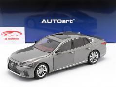 Lexus LS 500h Byggeår 2018 manganese luster metallisk 1:18 AUTOart
