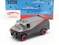 B.A.'s GMC Vandura Dirty Version 1983 séries de TV The A-Team (1983-87) 1:24 Greenlight
