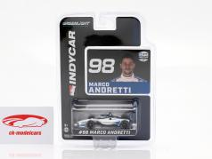 Marco Andretti Honda #98 Indycar Series 2020 Andretti Herta Autosport 1:64 Greenlight