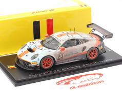 Porsche 911 GT3 R #20 优胜者 24h Spa 2019 Finish Line Dirty Version 1:43 Spark