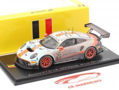 Porsche 911 GT3 R #20 vinder 24h Spa 2019 Finish Line Dirty Version 1:43 Spark