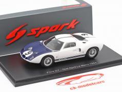 Ford GT #9 Test April LeMans 1969 Jo Schlesser 1:43 Spark