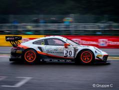 Porsche 911 GT3 R #20 gagnant 24h Spa 2019 Finish Line Dirty Version 1:43 Spark