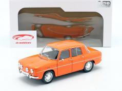 Renault 8 TS year 1967 orange 1:18 Solido